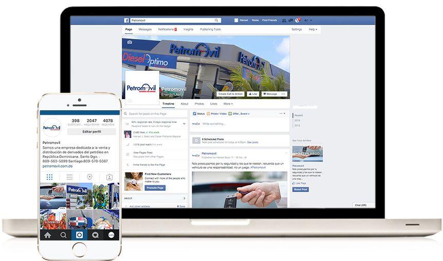 Redes Sociales Petromovil
